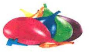 Pile of balloons