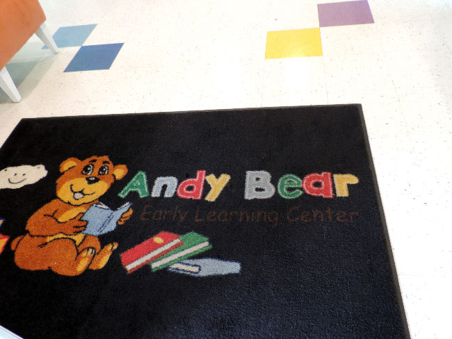 Andy Bear ELC mat